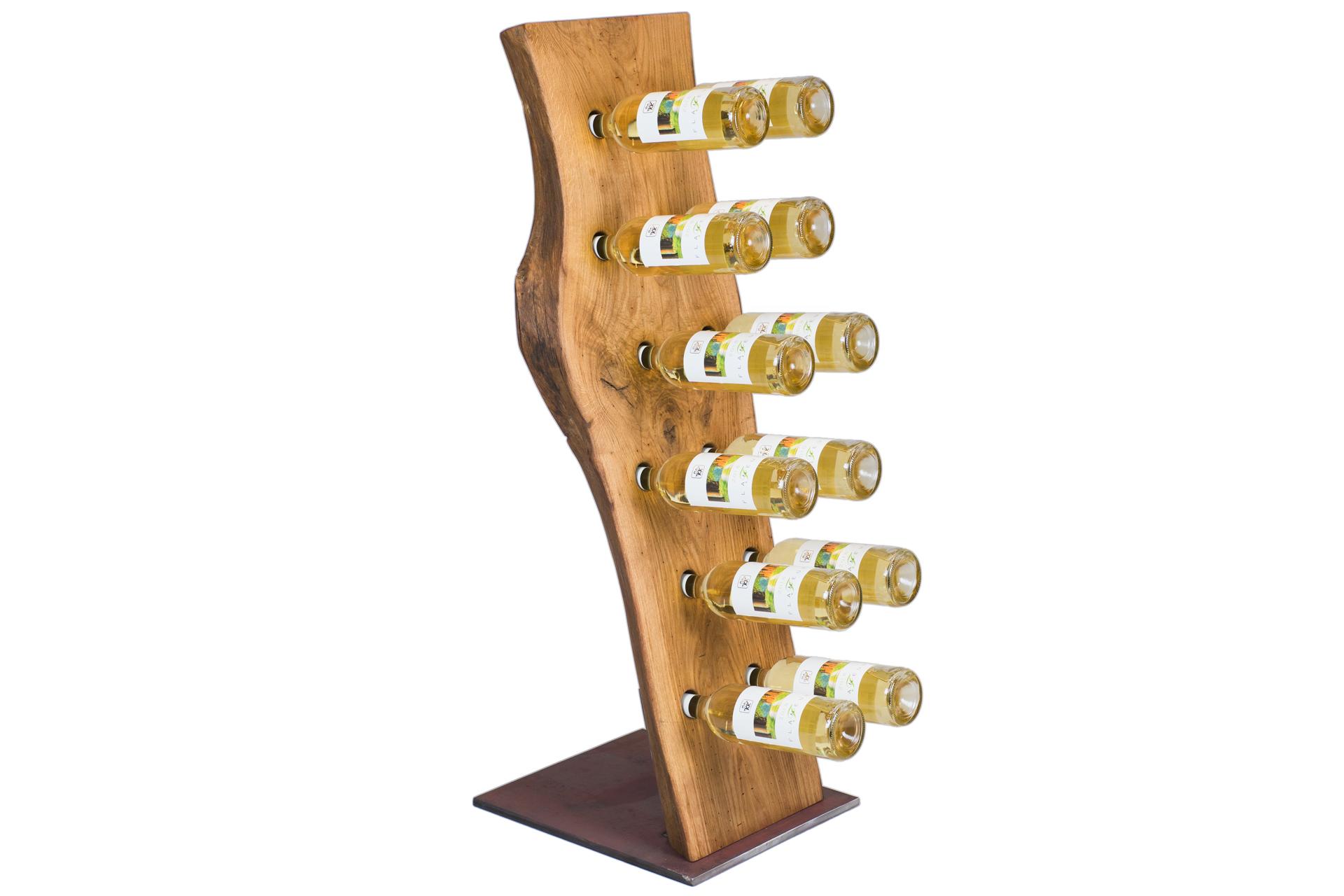 Weinregal Aus Holz Und Metall Online Kaufen Rustikal Einzigartig